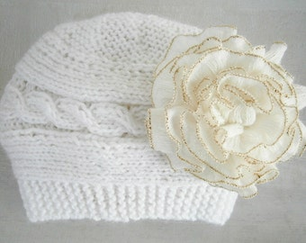 Baby Knit Hat - Baby Girl Knit Hat