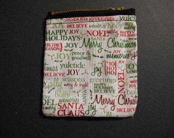 Gift Card Holder, Christmas, Holiday, money, check, stocking stuffer