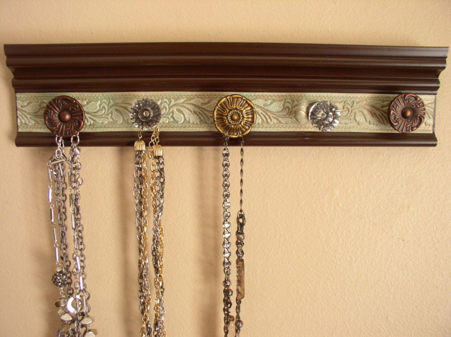 Jewelry Storage This Wall Hanging Necklace Organizer By