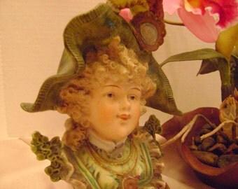 Sale, was 75. Antique porcelain boy figurine.