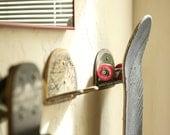 Upcycled Skateboard Board Hooks