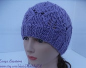 Clearance. Lavender Lace Hat.