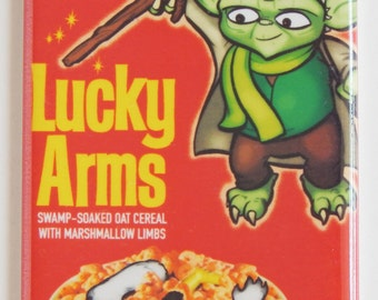 Lucky Arms Cereal Box Fridge Magnet