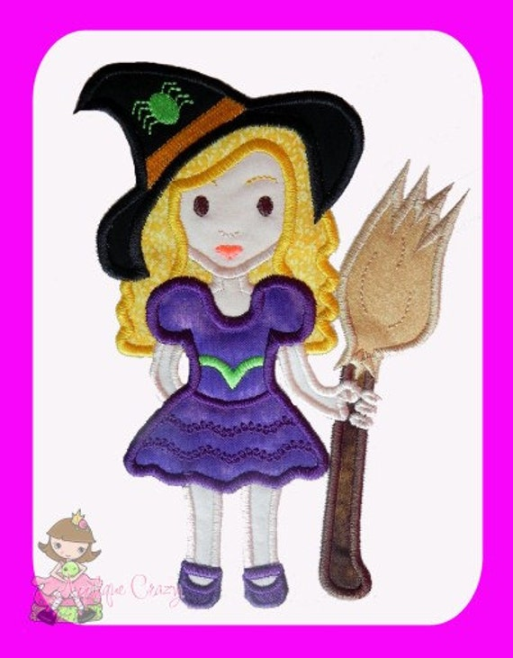 Witch Applique design