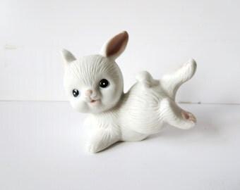 Rabbit  Porcelain Figures -Small Rabbit - cute bunny