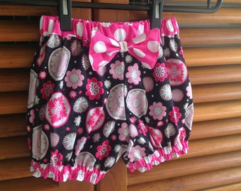 Sewing Pattern Shorts, Girl's Bubble Shorts Pattern, Baby Bloomer Pattern, 3 months to 6 years