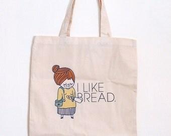 I Like Bread Nona Tote Bag