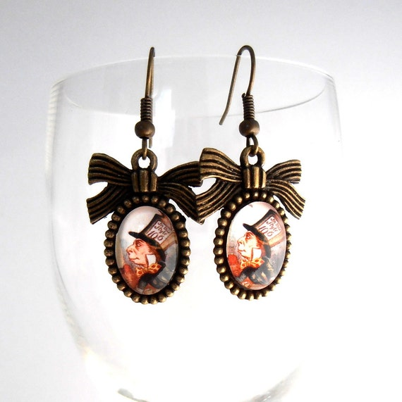items similar to mad hatter in dangle