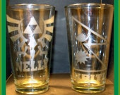 Custom glass etching - ANYTHING EVER on a Pint