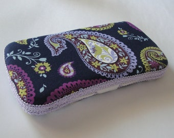 Baby Wipes Case, Travel Wipes Case Paisley Print