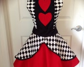 Summer Sales Event: Queen of Hearts apron