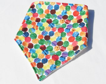 Baby Bandana Bib  - Dribble Bib - The Very Hungry Caterpillar bib