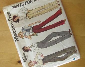 Uncut Vogue Sewing Pattern 1798 - Misses Pants - Size 26 1/2