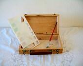 Vintage French Artist Box Lefranc & Bourgeois