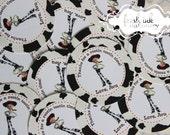 Personalized Cowgirl Jessie Stickers