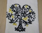 Lemon Tree Towel- DISCOUNTED for FLAW