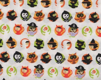 Halloween, Costume Clubhouse by Sheri Berry Designs for Riley Blake Designs, Halloween Fabric, 01619