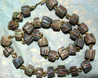AFRICAN TRADE BEAD Necklace c1800