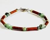 Therapeutic Hazelwood Jade (Gemstone) (Bracelet or Anklet)