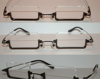 Anime Rectangular America Cosplay Costume Glasses