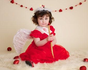 Cupid Cutie Child SZ Wings Valentine's Day Photo Prop....Valentine's Day, Partywear,Photo Prop....
