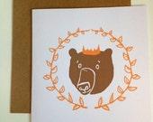 King Bear Greetings Occasion Card