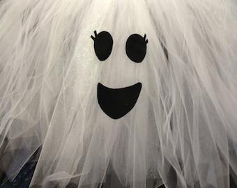Ghost Pre-Order Tutu Dress Costume, Halloween Costume, Ghost Costume, Tutu Costume