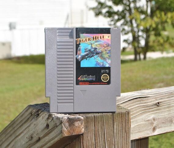 Tiger Heli Vintage Nintendo Game (NES) Acclaim 1985
