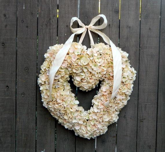 Valentines Wreath Front Door Valentines Wreath Heart Shaped