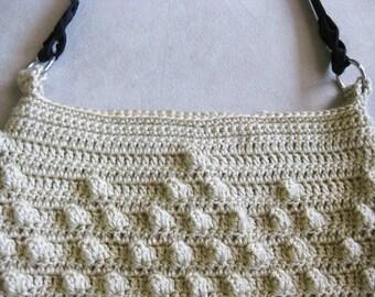 Crochet Popcorn Purse