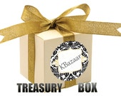 Gift Box full of Haberdashery Samples and Crafts Supplies from our KBazaar Shop - FREE Shipping