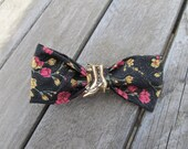 Floral Victorian Shoe Hair Bow