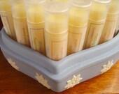 Natural Lip Balm wth jojoba oil and  cocoa butter