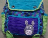 Super Cute small backpack PATTERN