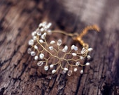 61_Bridal bracelet, Pearl wedding bracelet, Gold bridal vines bracelet, Gold bridal bracelet, Bridal bracelet gold, Crystal bracelet, Pearls