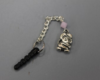 Mouse Cell Phone Charm