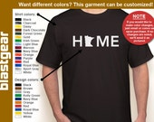 HOME Minnesota (or Any State) T-shirt — Any color/Any size - Adult S, M, L, XL, 2XL, 3XL, 4XL, 5XL  Youth S, M, L, XL