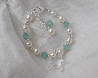 Starfish Bracelet-Wedding-Flower Girl Gift