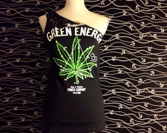 weed top womens support green energy 420 marijuana shirt old vans mary jane #13