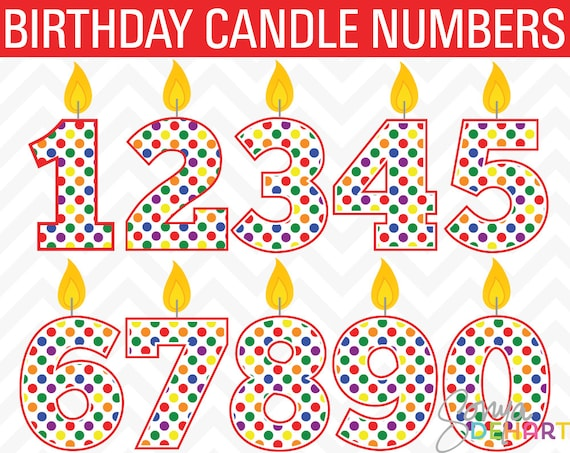 clipart birthday numbers - photo #7