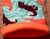 Dinosaur Snuggle bag for Small Animals