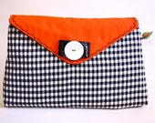 Check-In envelope clutch purse (vintage) - Catalina range