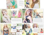 Senior Photography Digital Magazine - INSTANT DOWNLOAD - Bright Day