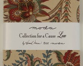 Collection for  a Cause - Love Charm Pack by Howard Marcus for Moda Fabrics