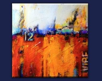 80 Degrees of March - Giclee Print Plexiplaq