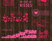 INSTANT Download Love & Valentine Editable Photo Overlays - P8
