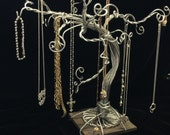 Jewelry Tree Stand Necklace Organizer Bracelet Display Ring Earring Storage-Ready to Ship-SMALL SIZE