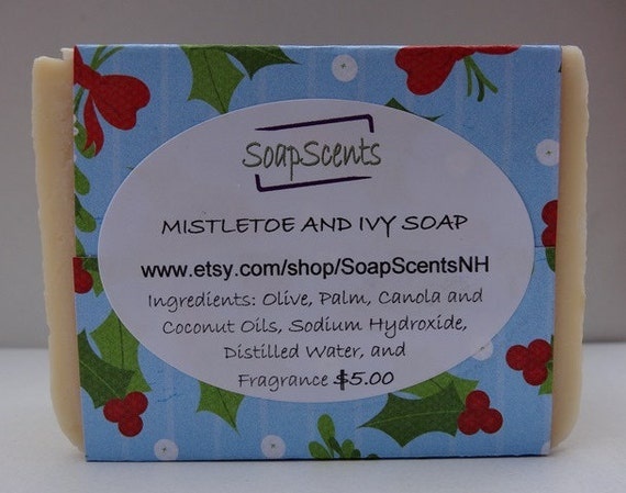 Mistletoe and Ivy Handmade Cold Process Soap - Made in NH