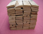 "60 pcs. 36""+/- Long  Reclaimed Plaster Lath Boards / Reclaimed Wood / Reclaimed Lumber"