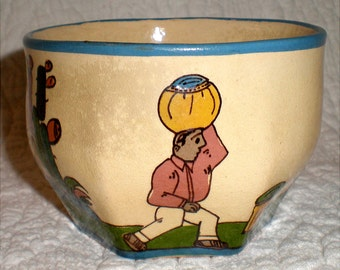 Tlaquepaque Yellow Cup Without A Saucer
